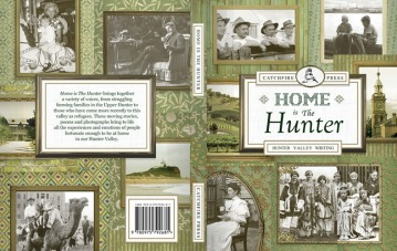 Home is the Hunter, cover design for Catchfire Press
