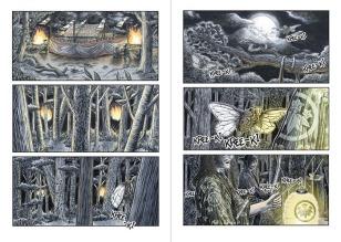 Kohaku Monogatari, a graphic novel by J. U. Rhodian; pages 8-9