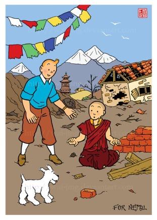 Tintin in Nepal