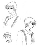 Tristan - character sketches