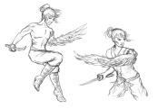 Shiro - character sketches