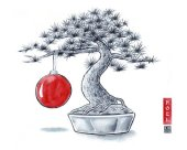 RSR Partners Japan - Christmas card design
